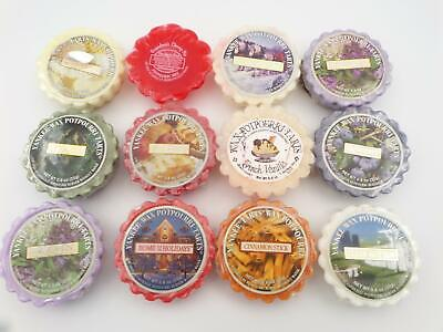 Mixed Scents New Lot Of 25 Yankee Candle Tart Wax Melts