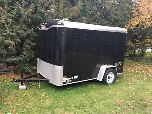 2010 6x10 enclosed trailer