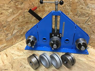 Tube Roller Bender Ring Roller - Flat Bar Tube Pipe Profile Box Bender