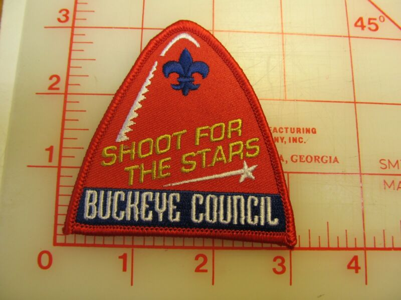 Buckeye Council collectible Shoot For The Stars patch (g19)