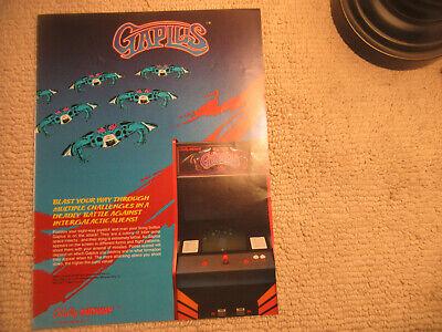 1984 BALLY MIDWAY GAPLUS VIDEO FLYER
