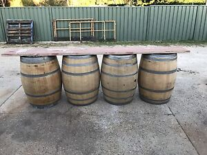Wine barrels wanted to buy Upper Swan Swan Area Preview