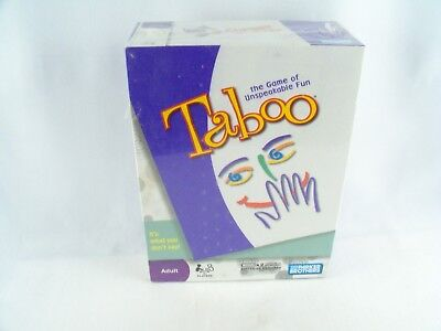 taboo board game for sale  Shipping to Canada