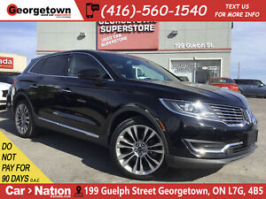 2016 Lincoln MKX RESERVE  NAVI  PANO ROOF  AWD  41, 216KMS