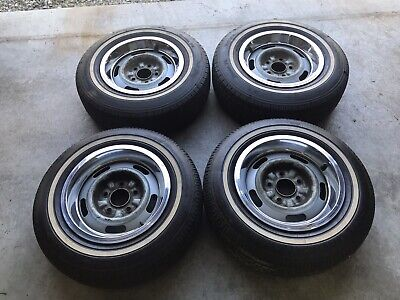 1967 Chevelle SS Rally Wheels
