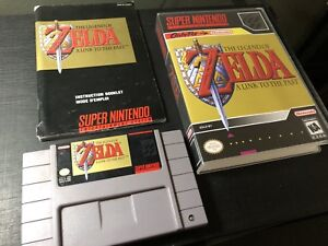 Zelda: A Link to the Past w/ manual