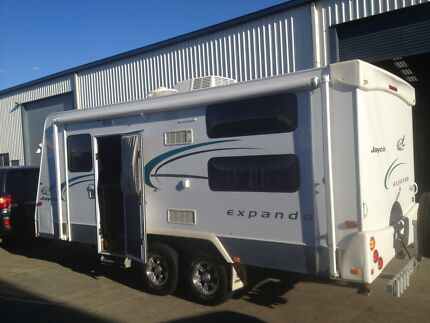 18ft Outback Jayco Expanda family bunk van Joyner Pine Rivers Area Preview