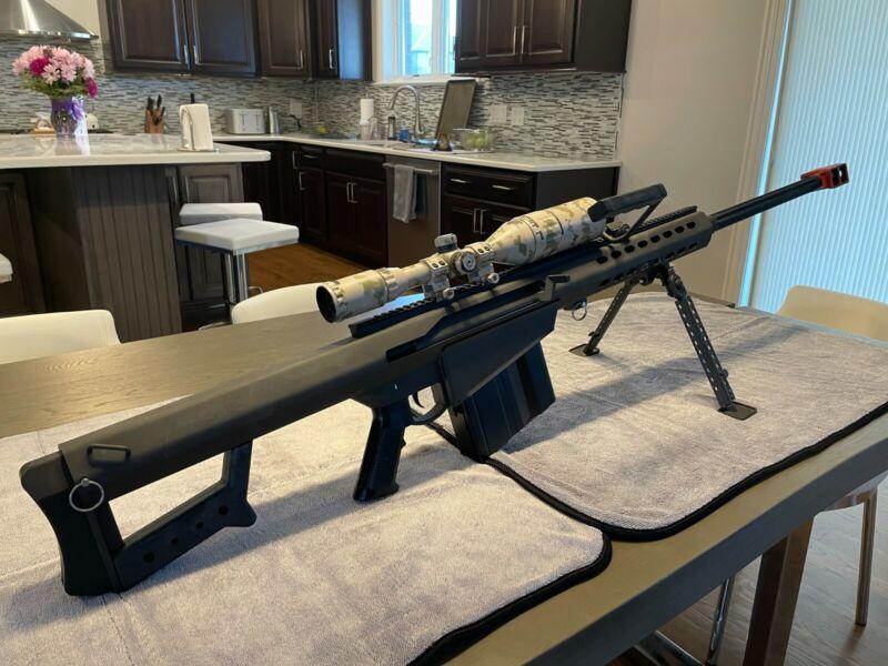 Socom Gear Barrett M82 V1 Airsoft Sniper AEG