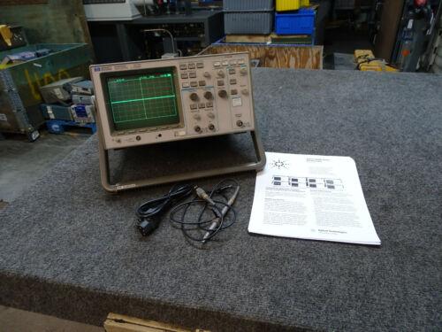 HP 54600A 100Mhz Oscilloscope & 1 Probe / Data Sheet