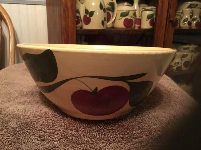 Watt Pottery #67 2 Leaf Apple