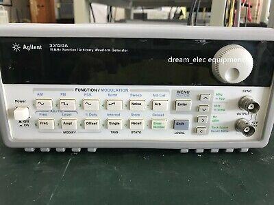 Agilent 33120a 15 Mhz Function Arbitrary Waveform Generator Option 001