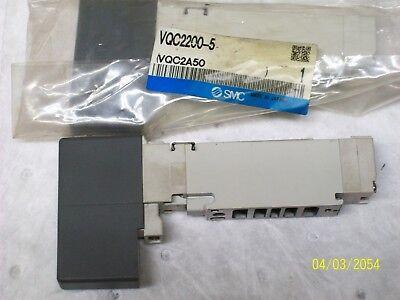 Lot Of 5 New Smc Solenoid Valve Vqc2200-5