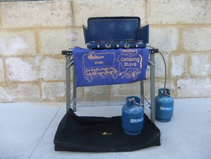 LPG Gas Camping Stove and Table Ellenbrook Swan Area Preview