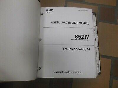 Kawasaki 85ziv Wheel Loader Factory Shop Service Repair Manual