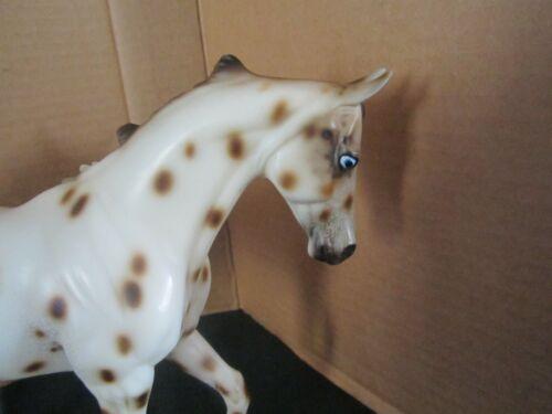 "Peter Stone Horse SR 2002 LE ""Nimbus"" Leopard Appaloosa Thoroughbred EXC"