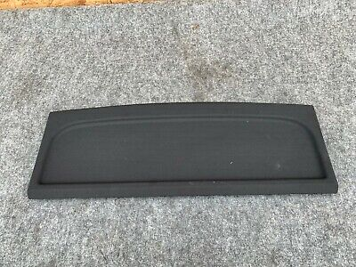 TRUNK AREA PACKAGE COVER ASSEMBLY BLACK  OEM 13-17 AUDI A7 S7 RS7 4.0L