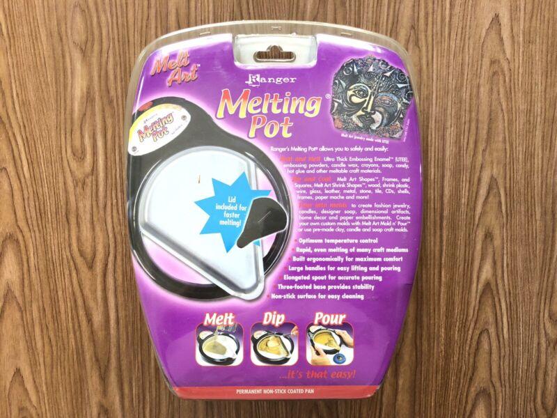 Ranger Melting Pot Melt Art's Ultimate Tool Pan Variable Temp for Heating New!