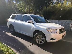 2008 Toyota Kluger Wagon Barden Ridge Sutherland Area Preview