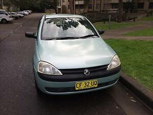 2002 Holden Barina Artarmon Willoughby Area Preview