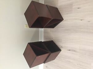 Decorative storage cubes