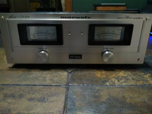 Marantz 170dc Amplifier Vintage Solid State Nearly Perfect