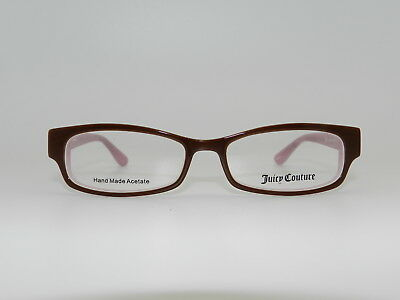 Authentic Juicy Couture JU 121 Eyeglasses Kids Teen eye glass frame Brown Pink