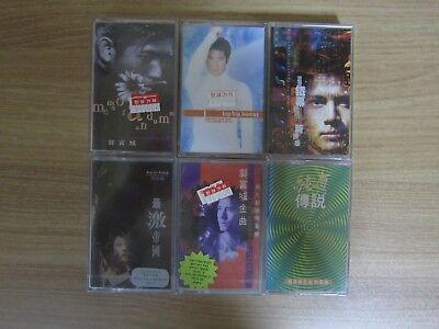 Aaron Kwok 郭富城 Korea 6 Factory Sealed Cassette Tape BRAND NEW