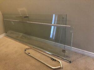 Vitre et porte de douche Neo angle 38''