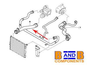 bmw e46 radiator coolant water hose 316i 318i n42 95 bmw 318i engine diagram