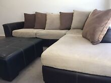 3x seater modular lounge with chaise Gillieston Heights Maitland Area Preview