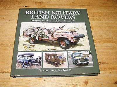 British Military Land Rovers by James Taylor & Geoff Fletcher. Was £35.00