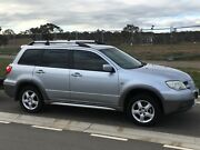 2004 Mitsubishi Outlander SUV All Wheel Drive Canberra City North Canberra Preview