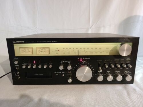 Vintage Emerson 8-Track AM FM Stereo Receiver