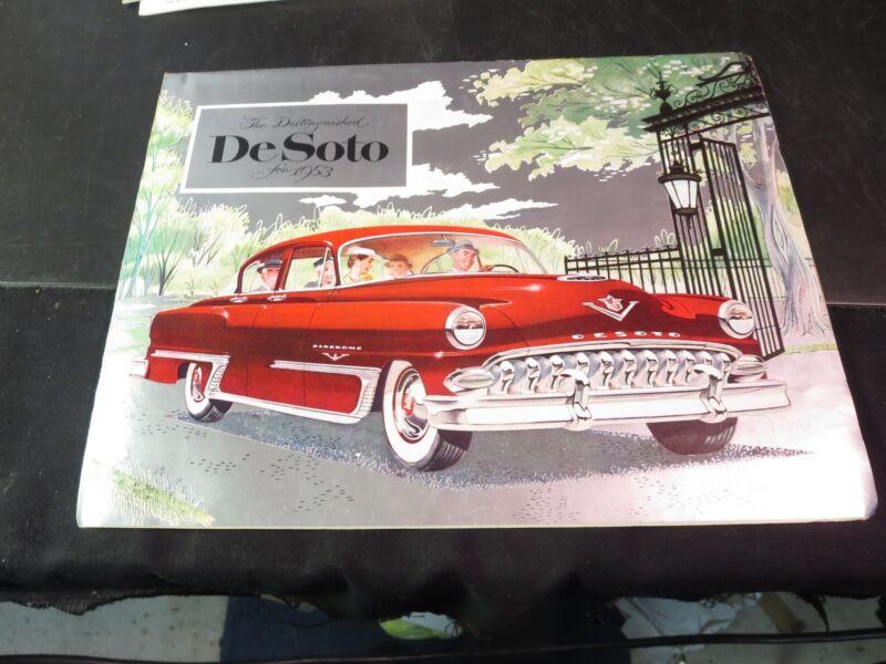 1953 De Soto Brochure