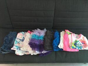 Vêtements Jupe et short fille TOUT À 2$
