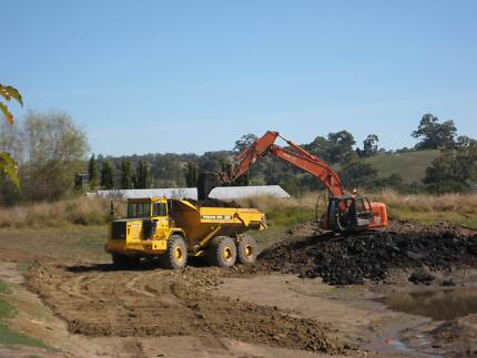 Volvo A35C Articulated dump trucks x3. with drop in tank Uraidla Adelaide Hills Preview