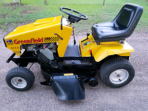 Greenfield Fastcust 32 Evolution Ride on mower Eli Waters Fraser Coast Preview