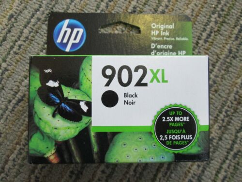 NEW HP 902XL Black Inkjet Cartridge  10/2021 Multiples available