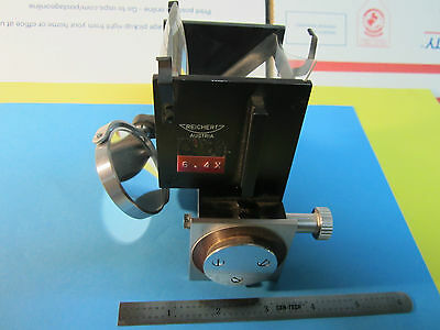 Microscope Part Reichert Austria Neupolar Objective Mirror Optics Bin23