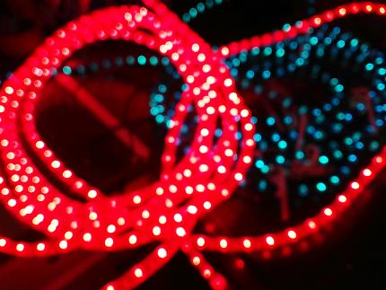 Christmas lights 6 x Rope lights