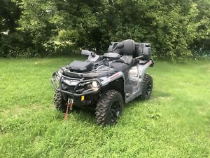 Can am 850 max XT outlander $15,500 like new