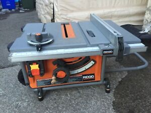 "Ridgid Table Saw 10"" Blade"