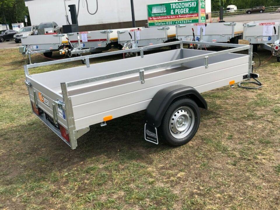 ⭐Anhänger Saris McAlu Pro DV75 750 kg 255x133x43 cm kippbar NEU in Schöneiche bei Berlin
