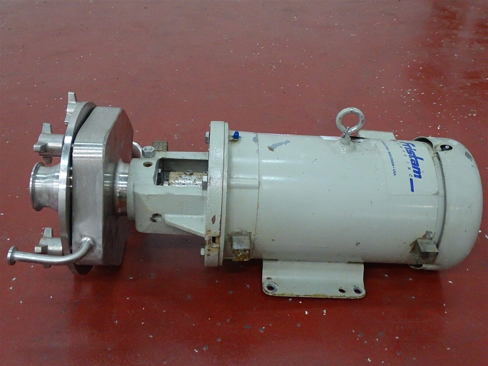 Fristam FPX742-185 Stainless Pump w/ Baldor CM5616T Motor 7-1/2HP 3450RPM 60Hz