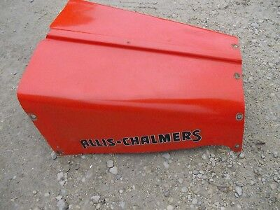 Allis Chalmers G Tractor Ac Nice Engine Motor Hood Cover Panel