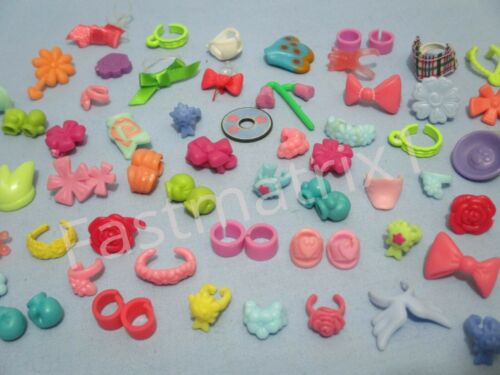 Littlest Pet Shop Lot 12 Random Bow Collar Earring Bracelet Gloves Accessory