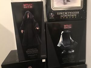 Sideshow emperor palpatine and imperial throne