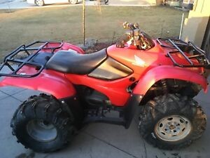 2007 Honda 420 fourtrax 4x4 quad