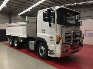 2019 Hino FS 2848 AMT AIR 6x4 10m³ Tipper - H01768 Breakwater Geelong City Preview