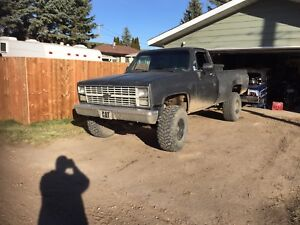 For sale or trade 84 Chevrolet k10